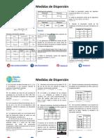 Medidas de Dispersión - Ejercicios Resueltos PDF