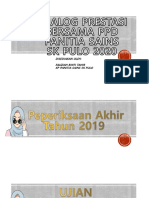 DIALOG PRESTASI PANITIA SAINS 2020