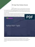 Cara Setting ARD Agar Bisa Diakses Secara Online