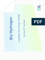 Sumary  BIO HYDROGEN H2 PATENT