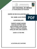 MEMORIA DESCRIPTIVA Y DE CALCULO RED DE ALCANTARILLADO FINAL