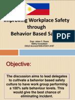 Improving Workplace Safety Through Behavior Based Safety