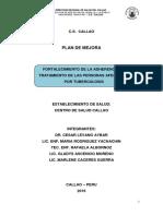 C.S. CALLAO PLAN DE MEJORA