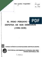 El indio peruano y la defensa de sus derechos