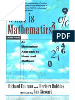 Richard Courant, Herbert Robbins - What Is Mathematics - An Elementary Approach to Ideas and Methods - Second Edition.pdf