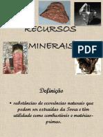 AULA - Recursos Minerais 2010