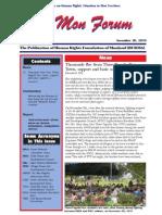 Mon Forum Issue No. 11/2010