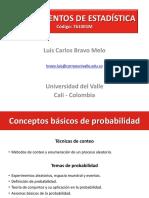 Probabilidad 1 (Definiciones y propiedades)