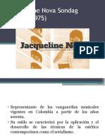 Jacqueline Nova Sondag