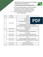 Susunan Acara Kuliah Umum dan Pelantikan Pengurus IATPI Provinsi Kalbar - Copy