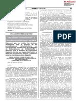 D.S. 012-2020-OS-CD
