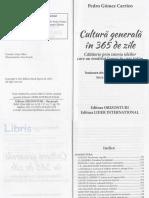 Cultura generala in 365 de zile - Pedro Gomez Carrizo.pdf