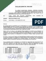 CIRCULAR DARH No. 005-2020 - BOLETO DE ORNATO 2020