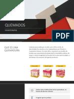 CLASE DE QUEMADOS