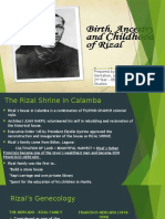RIZAL'S ANCESTRY, BIRTH and CHILDHOOD YEARS.pptx