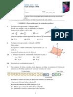 Porto Editora - Novo Espaco - 11 Ano 2018-19 - 4 Teste.pdf