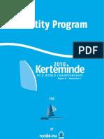 Identity Program - Kerteminde 2010 RS:X World Championships