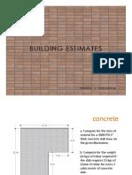 Building-Estimates