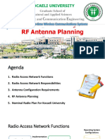 Presentation RF antenna planning
