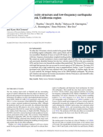 3-D P- and S-wave velocity structure and low-frequency earthquake locations in the Parkfield, California region