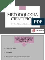 02.Metodologia científica