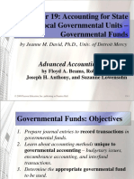 Chapter 19 Accounting for State and Local Governmental Units – Governmental Funds.ppt