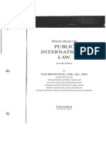 Principles of Public International Law, Brownlie, 7th edition, Sources of Law