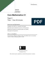 Solomon C QP - C1 Edexcel (1).pdf