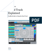 Studio One Chord Track Explained V1.0