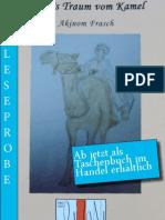 Leseprobe Akinom Frasch - Annas Traum vom Kamel