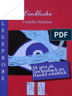 Leseprobe Cornelia Nienhaus - Einblicke