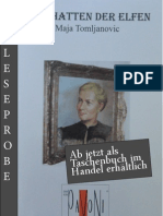 Leseprobe Maja Tomljanovic - In den Reihen der Elfen