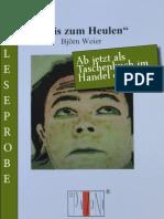 Leseprobe Björn Weier - Et is zum heulen