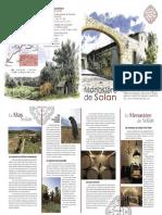 Dépliant de présentation du monastère de Solan