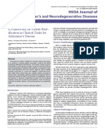 A Framework for Patient Stratification in Clinical Trials for Alzheimer s Disease