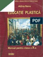 EDUCATIE PLASTICA CL X