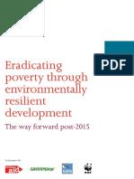 Eradicating Poverty Through Environmentally Resilient Development March 2013