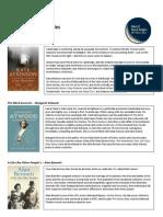 World Book Night 25 Titles