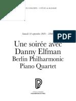Une soirée avec Danny Elfman