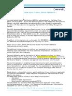 DNVGL_Additional interpretation of FSSC requirements_tcm11-145388
