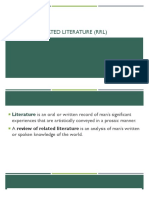 ppt6 Review of related literature (rrl)
