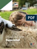 Urlaub auf dem Bauernhof 2020