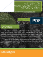 A study on sustainability of urban slums JNP