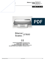 Fazzini Scales S7666 - Service manual