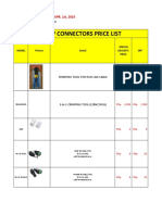 PRICELIST-CONNECTORS-2019