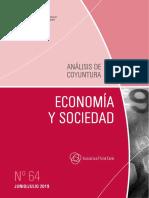 ECONOMIA Y SOCIEDAD - N 64 - JUNIO JULIO 2019 - PARAGUAY - PORTALGUARANI