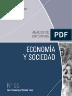 ECONOMIA Y SOCIEDAD - N 65 - SEPTIEMBRE OCTUBRE 2019 - PARAGUAY - PORTALGUARANI