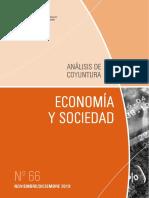 ECONOMIA Y SOCIEDAD - N 66 - NOVIEMBRE DICIEMBRE 2019 - PARAGUAY - PORTALGUARANI