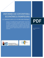 La Economía Pampeana en 2019
