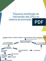 Esquema simplificado das CPCJ no SPP